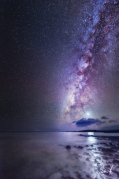 Maui - Venus and The Milky Way