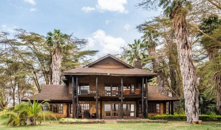 The Luxury Private Villa in Amboseli National Park, Kenya