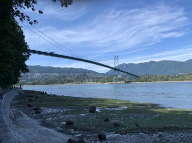 Lions Gate Bridge, Stanley park Vancouver
