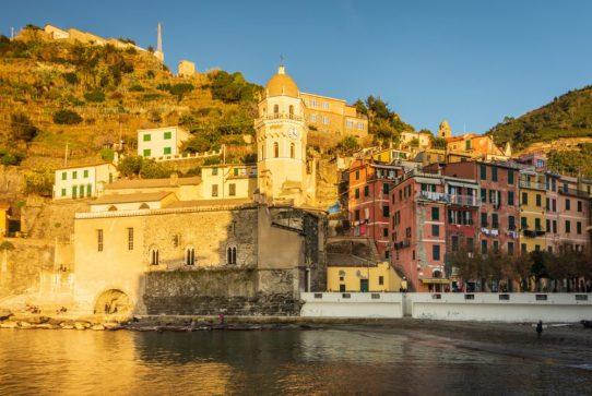 The Church Vernazza, Cinque Terre