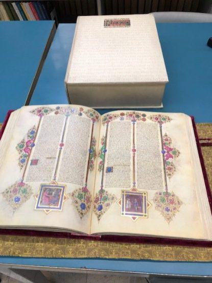 Bible of Borso - On Display at the Estensi Library in Modena