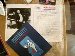 Magazine from the Pavarotti Villa