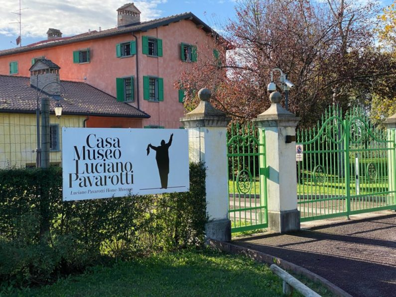 Luciano Pavarotti Villa in Modena Italy