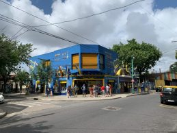 More buildings in La Boca - on our Cruise to South America