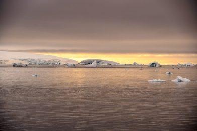 Stunning sky in Antarctica