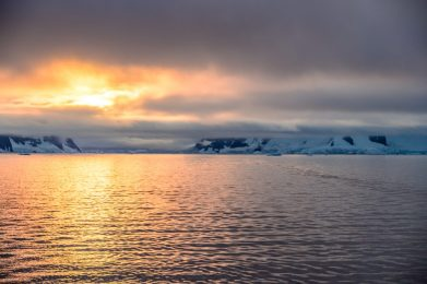 Fire and Ice on our Cruise to Antarctica