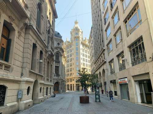 A building in Santiago, Chile