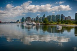 One of the Best Views of Vancouver are found in Stanley Park