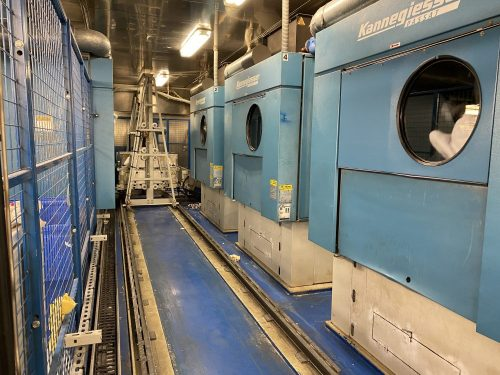Some of the Laundry Facilities on the Coral Princess