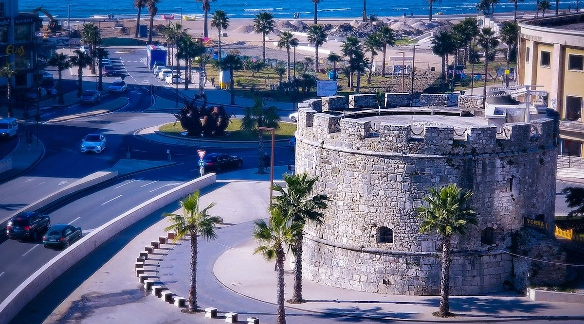 discover Durres albania venetian tower