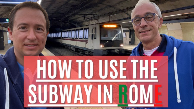 How to use the Subway in Rome