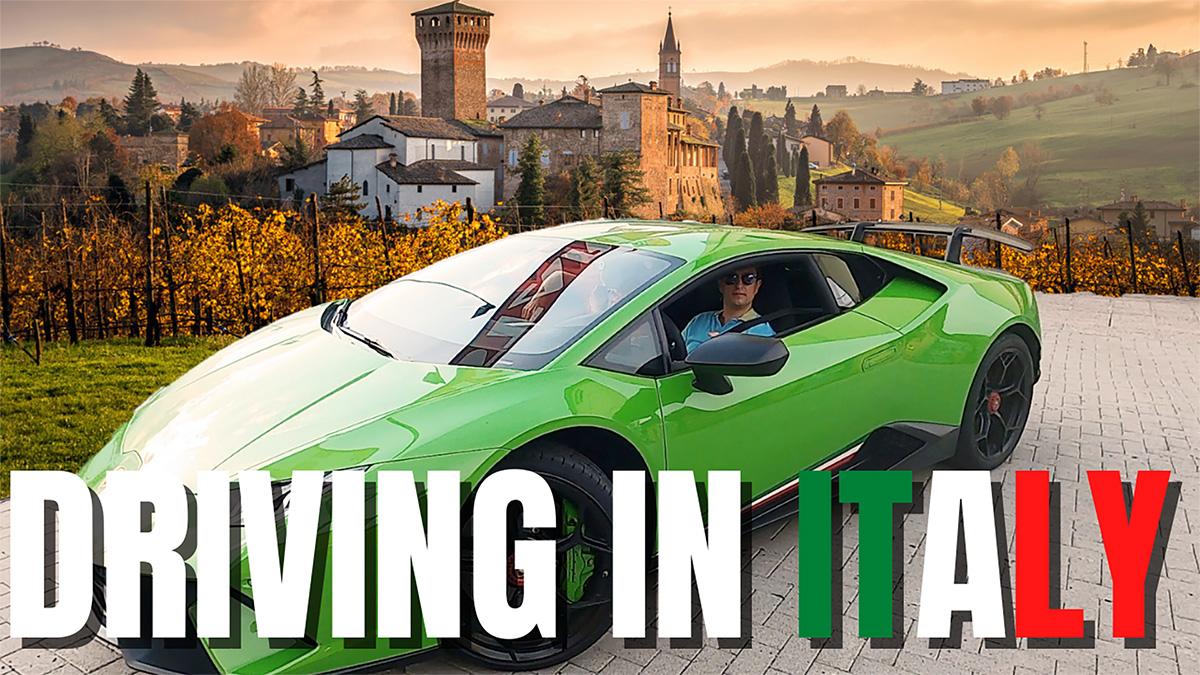 Driving in Italt