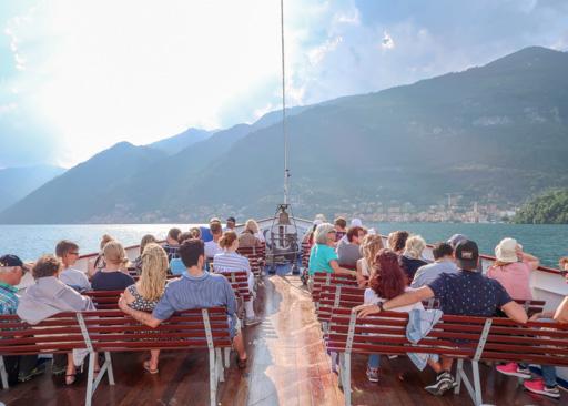 Ferry, Lake Como, Italy