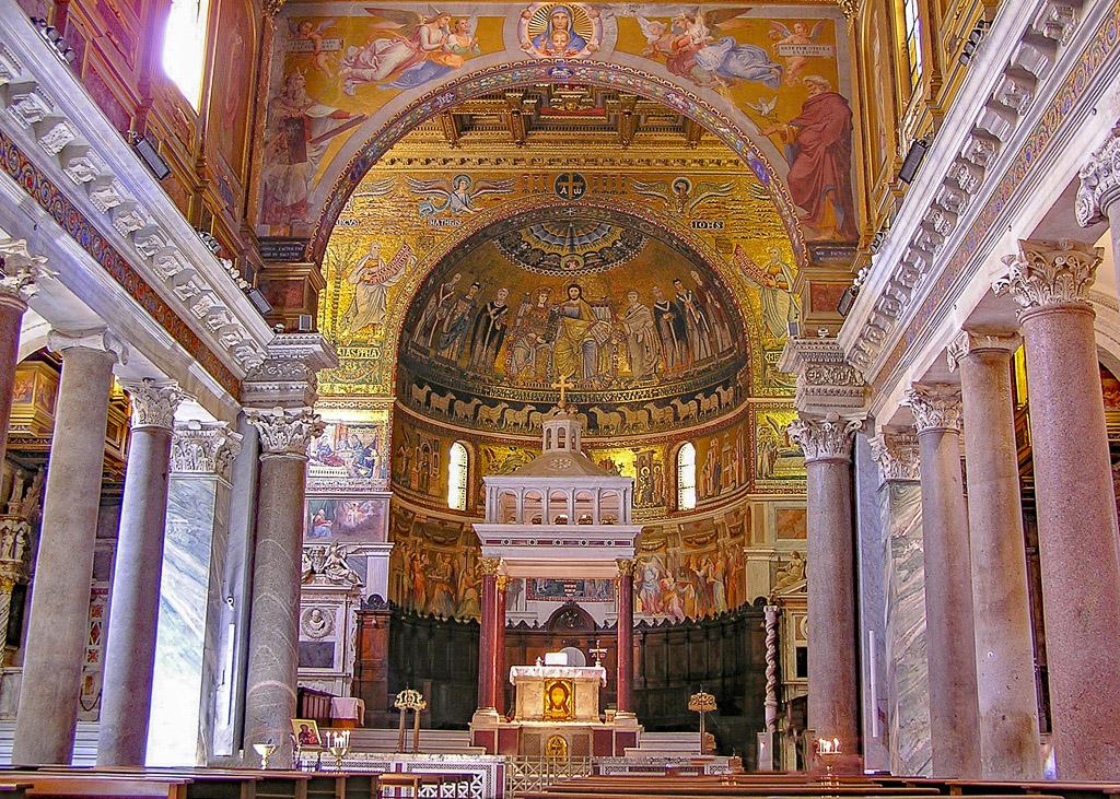 Santa Maria in Trastevere_Rome_Italy