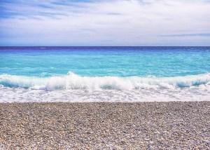 Nice Blue Sea, Cote dAzur, France