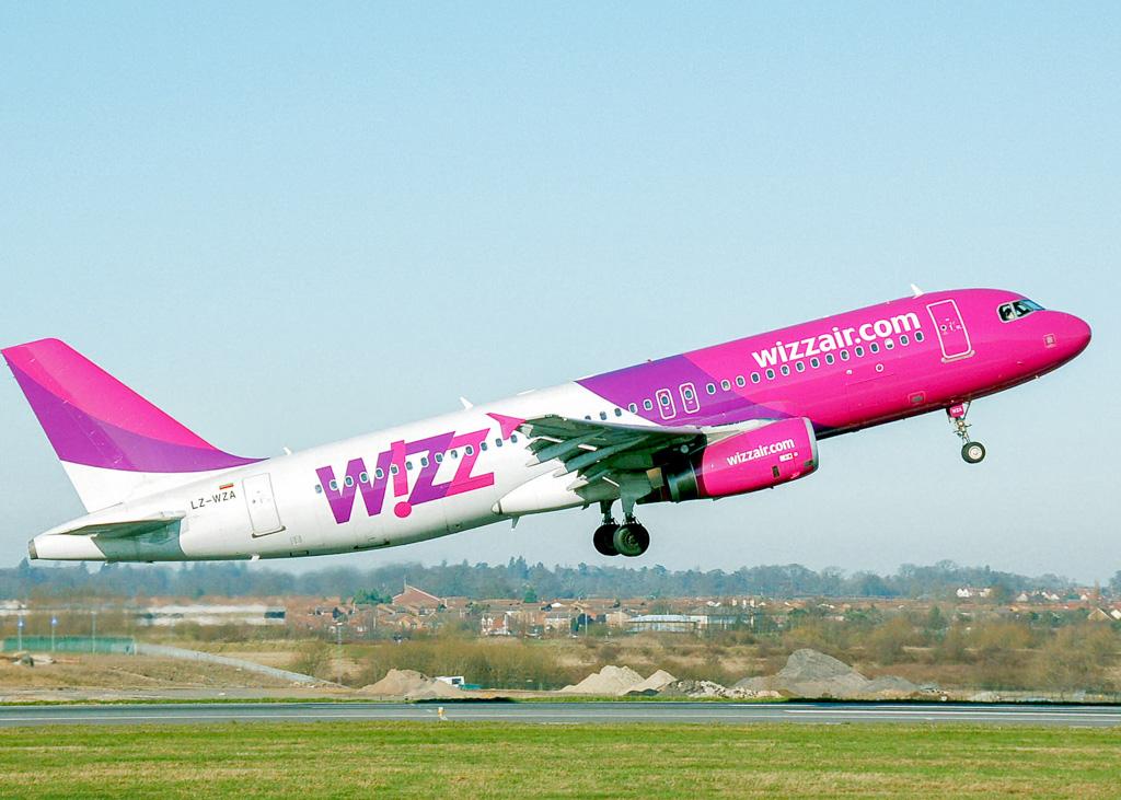 Wizz Air Airplane Take-Off