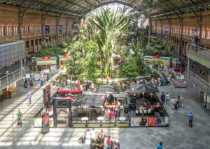 Rail Station_Madrid Puerta de Atocha