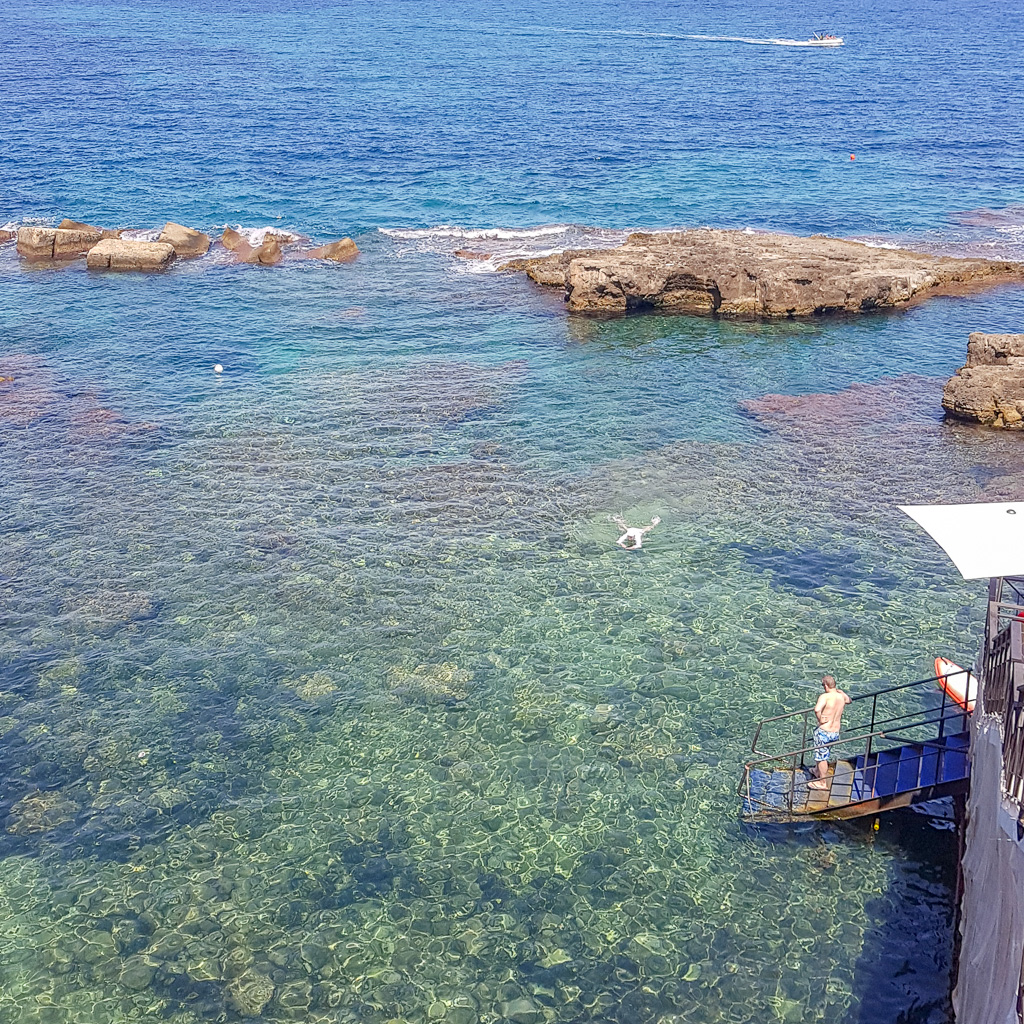 Solarium Nettuno Ortigia Syracuse Sicily Italy
