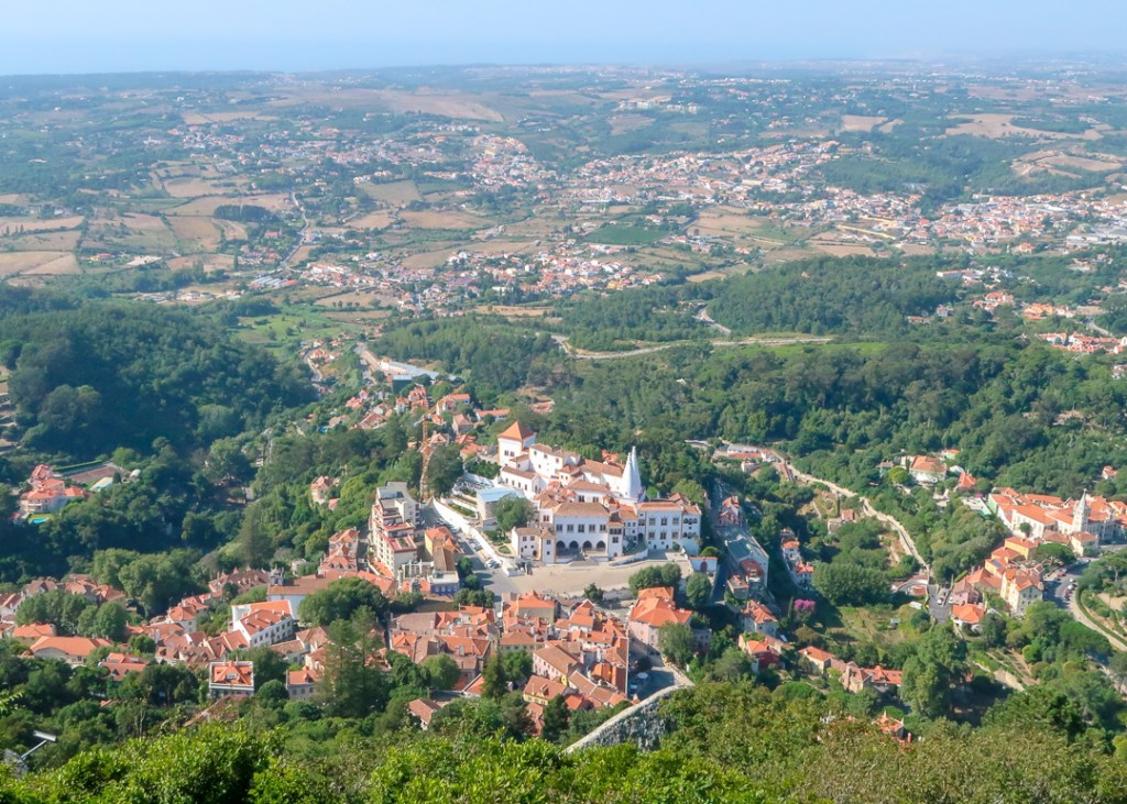 View from Castelo dos Mouros, Sintra, Portugal