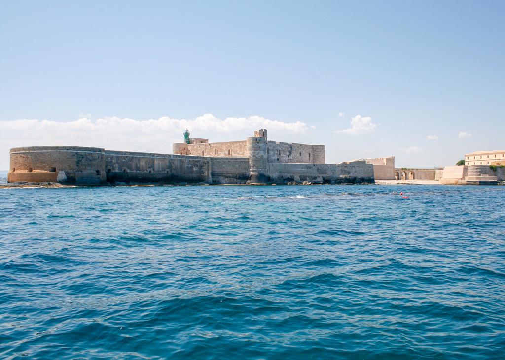 Castello Maniace, Ortigia, Siracusa, Sicilia, Italia