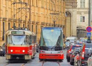 Prague Public Transport, Trams