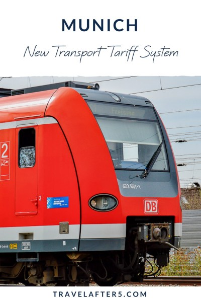 Pin_Munich New Transport Tariff System, by Travel After 5