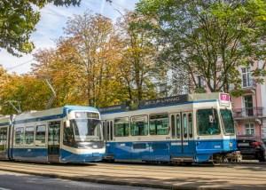 Trams @ Zurich, Switzerland