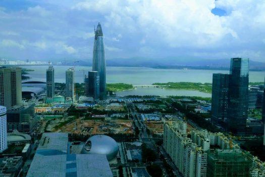 ShenZhen 46 floor skyline