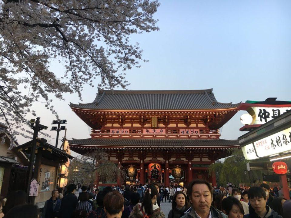 Asakusa in Tokyo