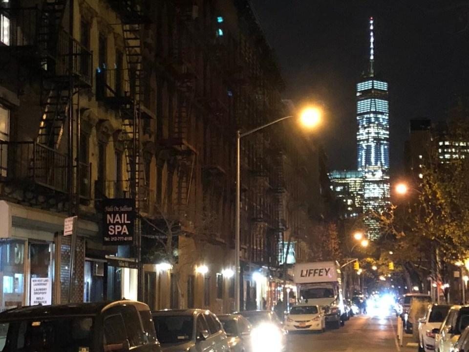 FiDi Night View of World Trade Center