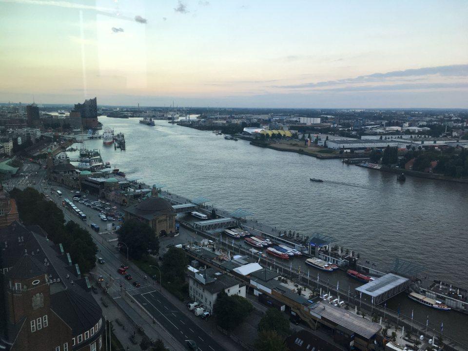 Hamburg 20 up view after work