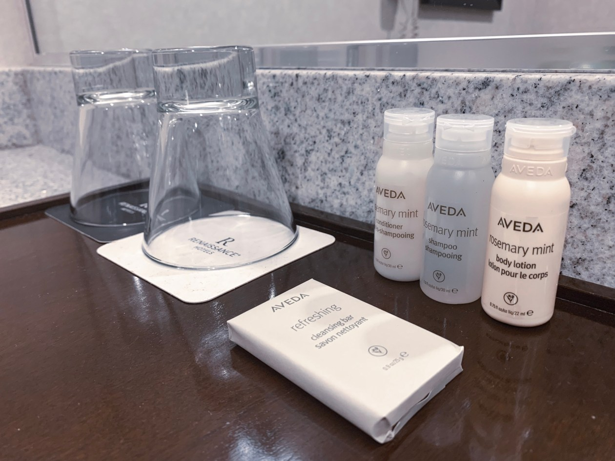 What to do with hotel freebies