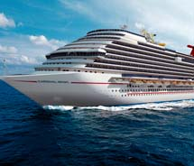 Carnival Cruise Lines is targeting the value of cruising in 2012.  // © 2012 Carnival Cruise Lines