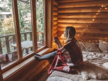 Places Stay In Cozy Cabin Fall Winter