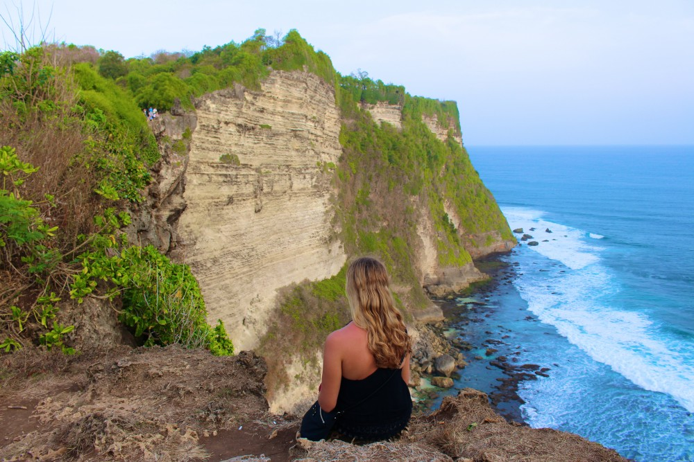 Cliffs in Bali