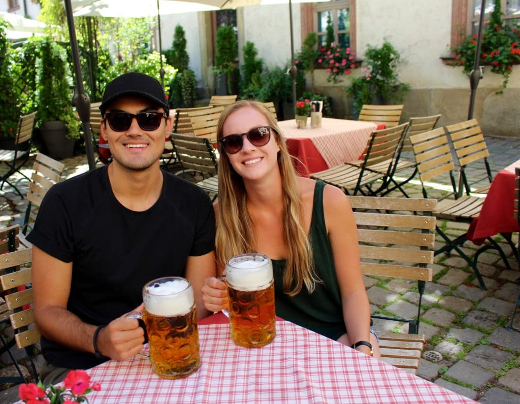 Our Bucket List / Biergarten