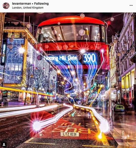Fotógrafos do Instagram de Londres - @levanterman