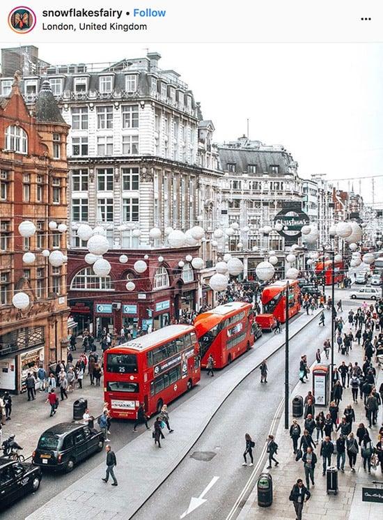 Fotógrafos do Instagram de Londres - @snowflakesfairy