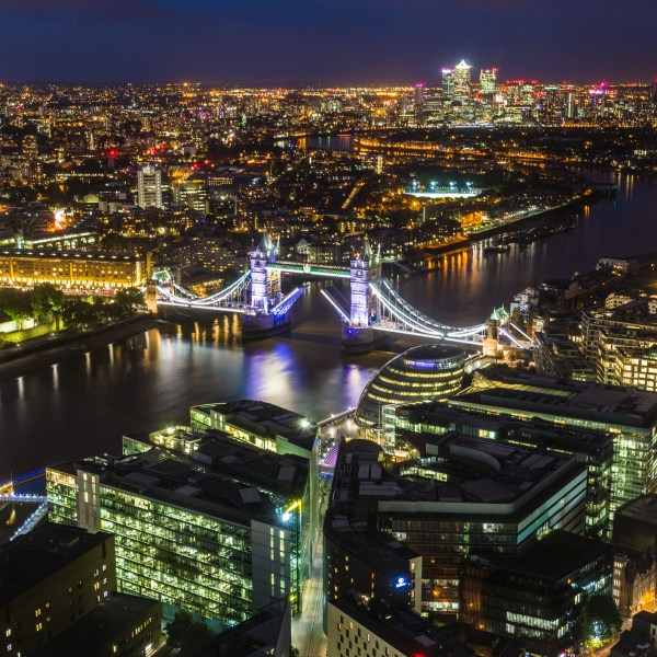 Views of London from the Shangri-La At The Shard, London