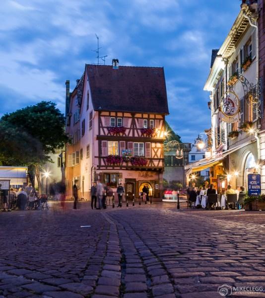 Noites em Colmar