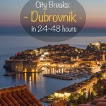 City Breaks - Dubrovnik em 24-48 horas