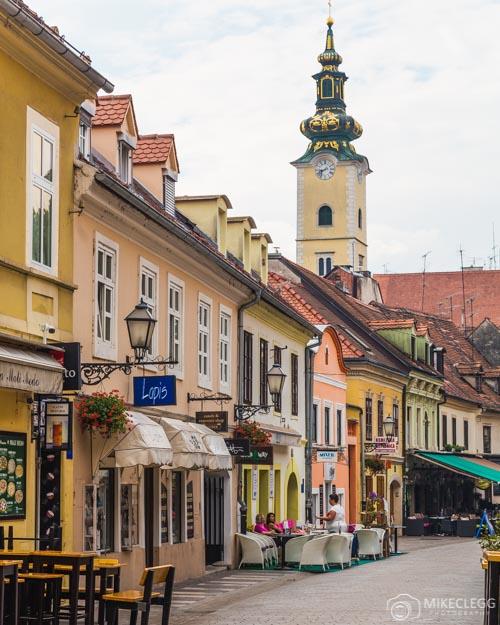 Tkalčićeva ulica em Zagreb