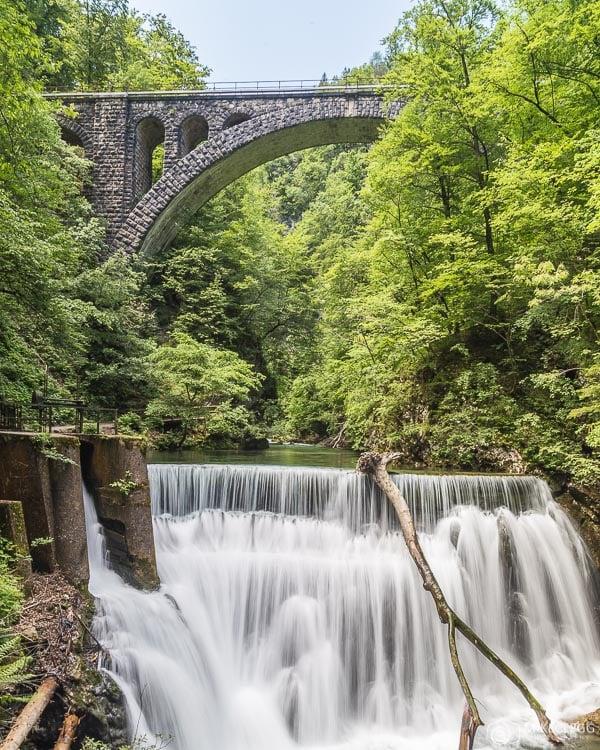 Cachoeiras e pontes, Vintgar Gorge