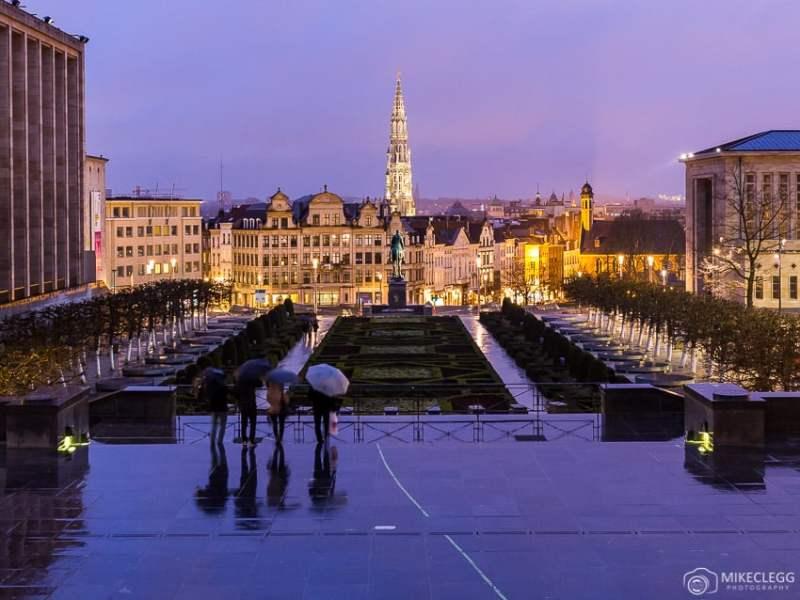 Bruxelas à noite, Bélgica