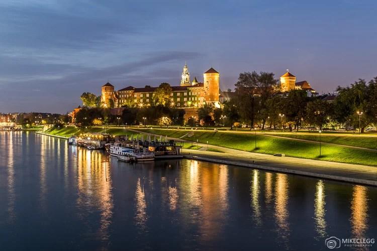 Castelo Real Wawel à Noite, Cracóvia