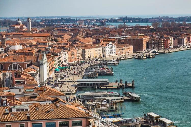 Vista de Veneza de San Marco Campanile