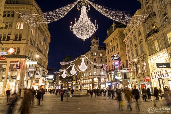 Graben em Viena no Natal