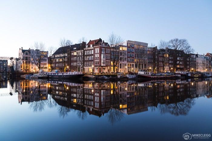 Reflexões em Amsterdã
