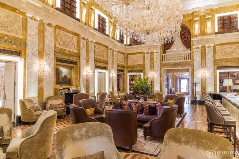 Beautiful interiors at Hotel Imperial Vienna