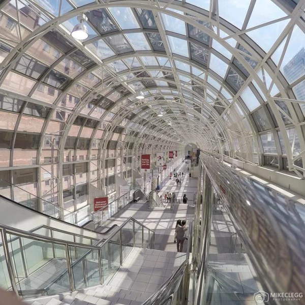 Skywalk at Union Station in Toronto